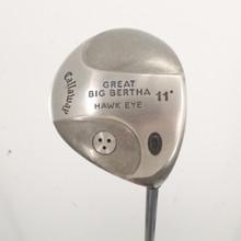 Callaway Great Big Bertha Hawk Eye Driver 11 Degrees UL Regular Flex 88184H