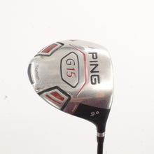 Ping G15 Driver 9 Degrees Aldila Serrano 60-S Graphite Stiff Flex 88425A