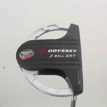 Odyssey White Steel 2-Ball SRT Mallet Putter 35 Inches Right-Handed 88622H