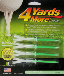 "4 Yards More Golf Tee - 4 Pack - 4"" -  Longest allowed by USGA and R&A GT-11926"