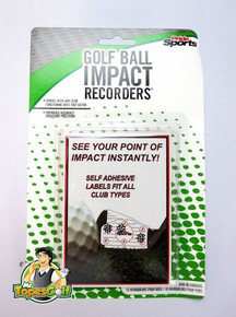 Golf Ball Impact Recorders - Works with any golf club - GT-23238