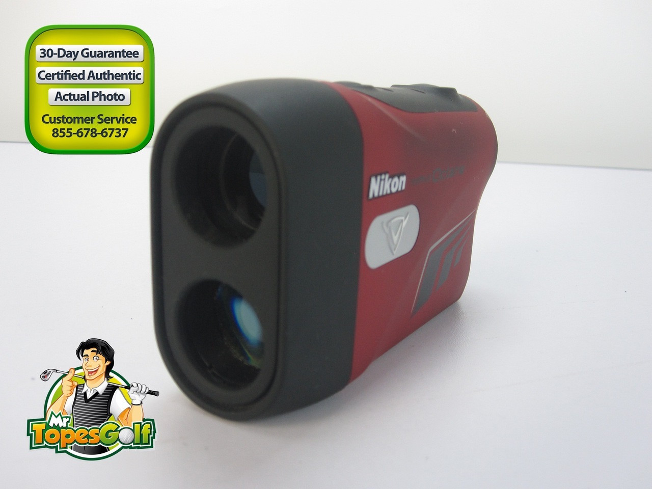 Callaway Nikon Diablo Octane Laser Golf Rangefinder With And Battery