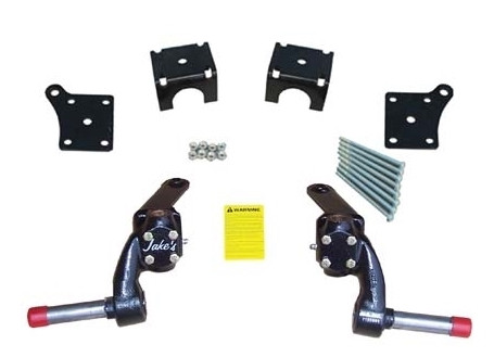 """Jakes 3"""" EZGO TXT / Medalist Spindle Lift Kit (Fits 1994 to 2001.5, Electric)"""