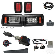 Club Car DS Golf Cart Light Kit - STREET LEGAL (LEDs or Regular)