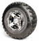 "8'' RANGER Wheels and 18x9.5-8"" All Terrain Tires - Set of 4"