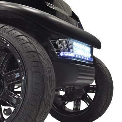 MADJAX LED Club Car Precedent Light Kit Front Bumper Light Bar (Fits 2004+)