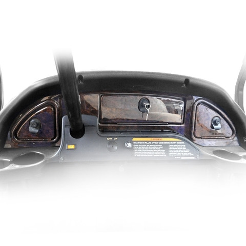 MADJAX Club Car Precedent Dash in Woodgrain (Fits 2004-2008)