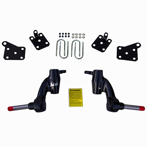 "JAKES 3"" EZGO RXV Golf Cart Spindle Lift Kit (2014 & Newer, Gas & Electric)"