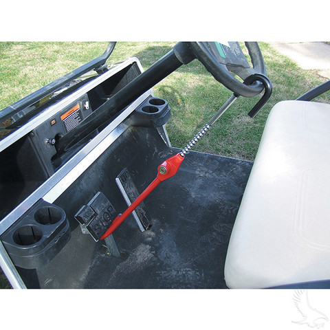 "Golf Cart Pedal to Wheel Lock - ""The CLUB"" Security Bar (Fits All Carts)"