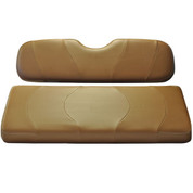 MADJAX Wave Two Tone Front Seat Covers in Moroccan Brown - Fits all Carts!