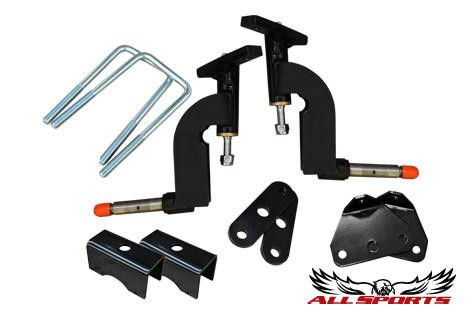 """All Sports EZGO RXV 6"""" RHOX Drop Spindle Golf Cart Lift Kit (Gas & Electric)"""