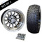 "12"" PHOENIX Wheels and 22x9.5-12"" DOT RHOX Street Tires Combo - Set of 4"