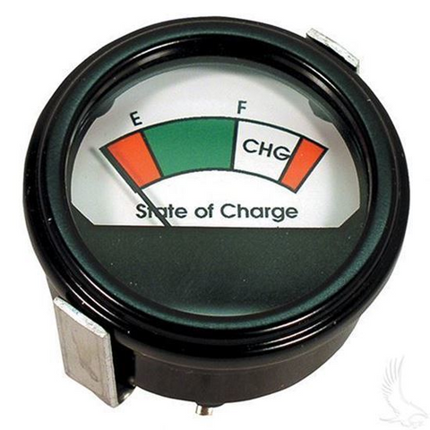 48V Round Analog Charge Meter