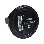 36V Round Digital Charge Meter