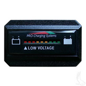 48V Dual Pro Horizontal Battery Fuel Gauge