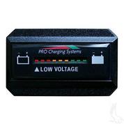 48V Dual Pro Horizontal Battery Fuel Gauge