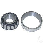 EZGO Marathon Front Wheel Bearing Set, Cone and Cup, (Fits 1967+, 3-Wheel EZGO)