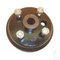 EZGO Brake Drum - Large Hole - Fine Splined (Fits all 4-cycle Gas 1991+, and RXV)