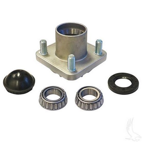 EZGO Front Aluminum Wheel Hub Kit (Fits All EZ-GO 2001.5+)