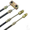 """EZGO Brake Cable Set - (1) 46"""" & (1) 34 1/4 (Fits all 1993-1994)"""