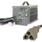 EZGO 48-Volt Golf Cart Battery Charger w/ 3-Pin Triangular Style Plug (Fits RXV 2008+ & TXT 2012+)