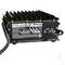 EZGO RXV/ TXT 36V-48V Auto Ranging Voltage Golf Cart Battery Charger - Lester Summit Series II 13A-27A (3-Pin Plug)