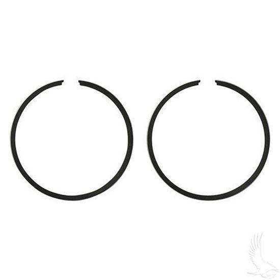 EZGO Piston Ring Set of 2 in .25mm Oversized (Fits EZ-GO 2