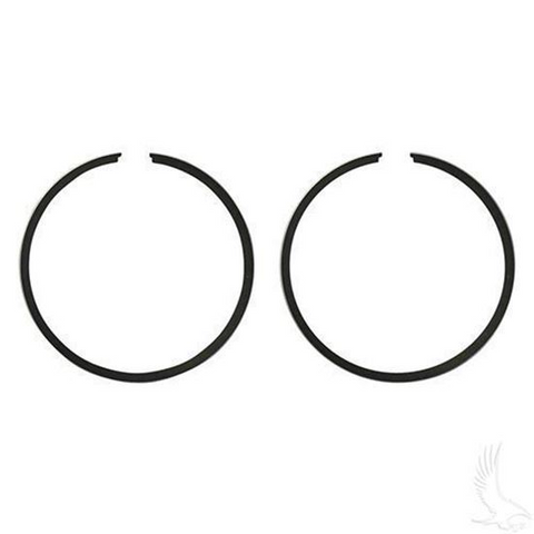 EZGO Piston Ring Set of 2 in .50mm Oversized (Fits EZ-GO 2-cycle Gas 1976-1994)