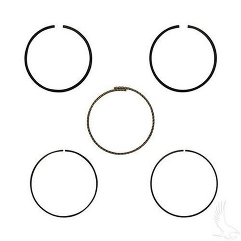 EZGO Piston Ring Set in .25mm Oversize (Fits EZ-GO 4-cycle Gas 1992+ 350cc)