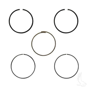 EZGO Piston Ring Set in .25mm Oversize (Fits EZ-GO 4-cycle Gas 1992+ 350cc)