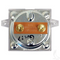 EZGO PowerWise 30A Square Ammeter for PowerWise+ Chargers (1994+)
