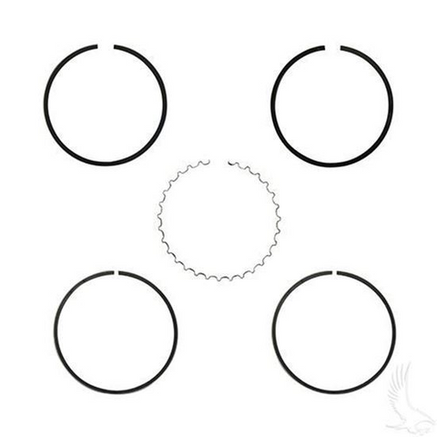 EZGO Piston Ring Set in .25mm Oversized Size (Fits EZ-GO 4-cycle Gas 1991+ 295cc Only)