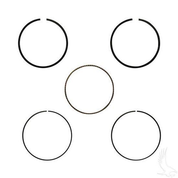 EZGO Piston Ring Set in .50mm Oversized Size (Fits EZ-GO 4-cycle Gas 1992+ 350cc)