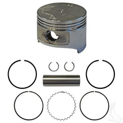 EZGO Piston and Piston Ring Assembly in .50mm Oversized Size (Fits EZ-GO 4-cycle Gas 1991+ 295cc Only MCI)