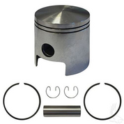 EZGO Piston and Piston Ring Assembly in Standard Size (Fits EZ-GO 2-cycle Gas 1980-1988)
