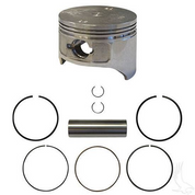 EZGO Piston and Piston Ring Set in Standard Size (Fits EZ-GO 4-cycle Gas 1992+ 350cc)