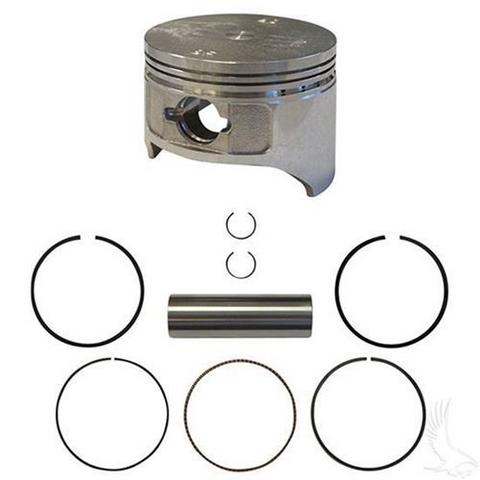 EZGO Piston and Piston Ring Set in Standard Size (Fits EZ-GO 4-cycle Gas 1992+ 350cc)