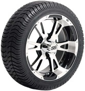 "ITP SS112 14"" Wheel and GTX Low Profile Tire Combo"