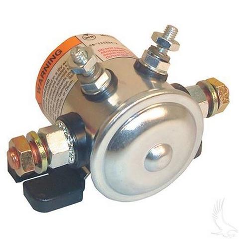EZGO Marathon 12V 4-Terminal Copper/Short Solenoid (Fits EZ-GO Gas 1979-1994)