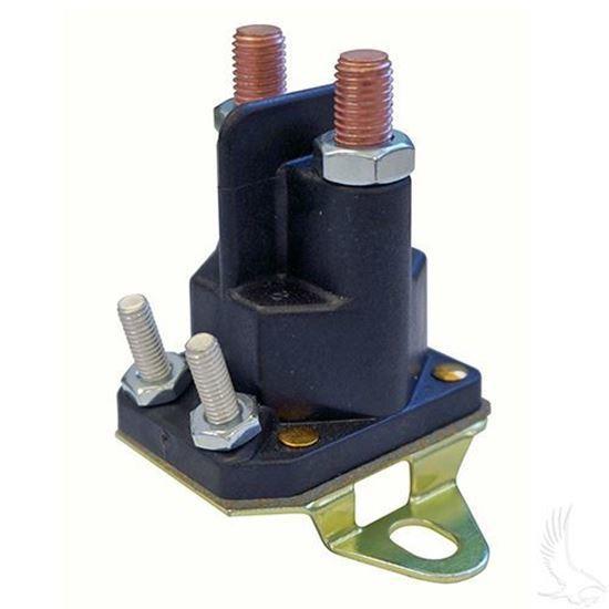 ezgo rxv 14v 4-terminal solenoid (for ez-go rxv gas w/ kawasaki engine) | golf  cart tire supply