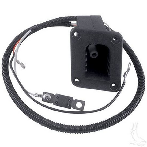 Receptacle Assembly for EZGO PowerWise Golf Cart Battery Charger