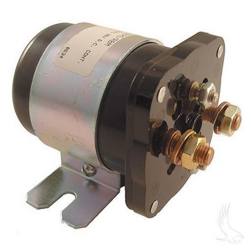 EZGO 36V 4 Terminal Silver Solenoid (For EZ-GO Electric 1989+)