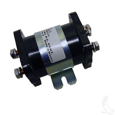 Heavy Duty Solenoid - 48-Volt 6-Terminal 200 Amp (200A)