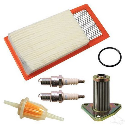 EZGO Golf Cart Tune Up Kit (For 1994-2005, 4-cycle Gas w/ Oil Filter)