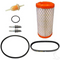 EZGO Golf Cart DELUXE Tune Up Kit (For 2005+, 4-cycle Gas without Oil Filter)