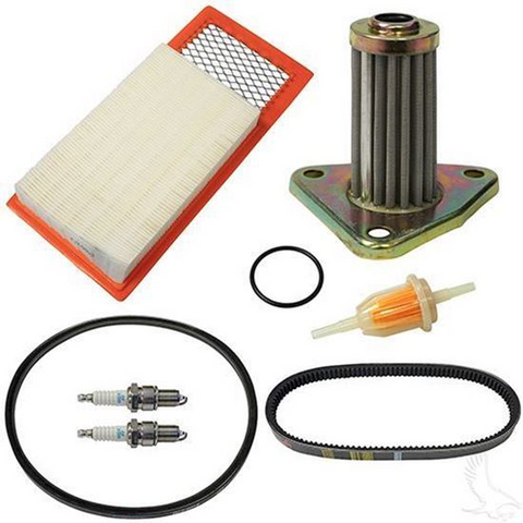 EZGO Golf Cart Deluxe Tune Up Kit (For 1994-2005, 4-cycle Gas w/ Oil Filter)