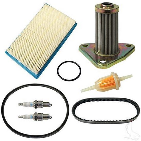 EZGO Golf Cart Deluxe Tune Up Kit (For 1991-1994, 4-cycle Gas w/ Oil Filter)