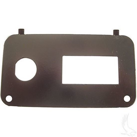 EZGO TXT/ Medalist Key Switch Console Plate w/ State of Charge Meter