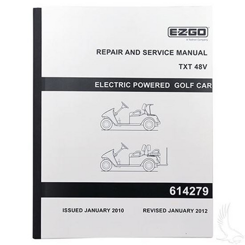 service manual for ezgo txt electric 48v golf cart tire supply rh golfcarttiresupply com Ezgo TXT Gas Wiring 1997 Ezgo TXT Wiring-Diagram