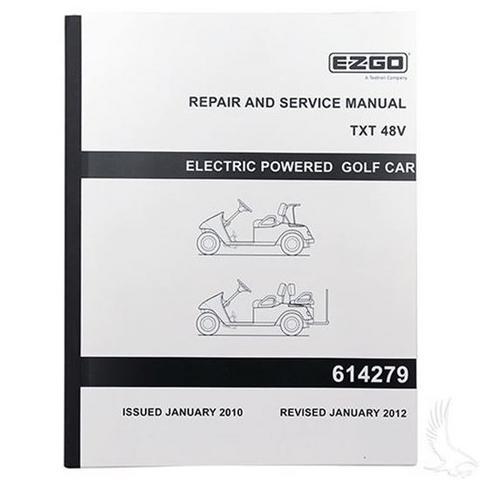 Service Manual for EZGO TXT Electric 48V